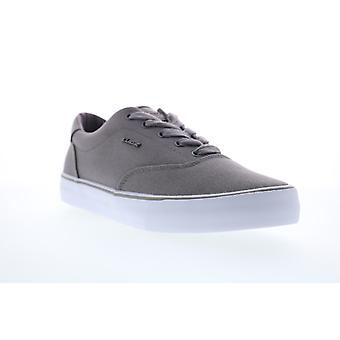 Lugz Flip  Mens Gray Canvas Lace Up Lifestyle Sneakers Shoes
