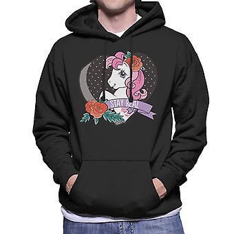 My Little Pony Stay Real Men's Hooded Sweatshirt