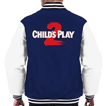 Chucky Childs Play 2 logo män ' s Varsity jacka