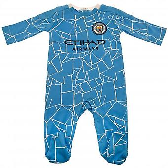 Manchester City Sleepsuit 9-12 months