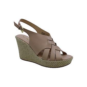XOXO Naiset's Lazaro Wedge Sandal Tan 7 M YHDYSVALLAT