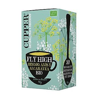 Infusion Fly High Bio 20 sachets infuseurs