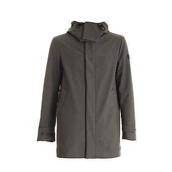 Peuterey Peu331001191511690 Women's Green Nylon Trench Coat
