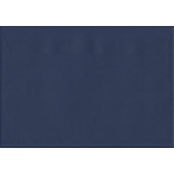 Oxford Peel/guarnizione blu C5/A5 buste colorate blu. Carta certificata FSC di lusso 120gsm. 162 x 229 mm. portafoglio stile busta.