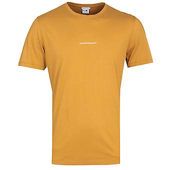 NN07 No Nationality Yellow T-Shirt