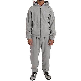 Gray Cotton Sweater Tracksuit BIL1014-2
