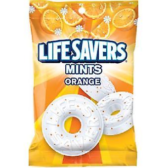 שומרי החיים מנטה הקשה ממתקים עטוף בנפרד