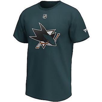 Camisa do SAN Jose Sharks da NHL #65 Erik Karlsson
