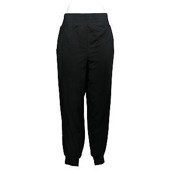 Anybody Women's Regular Pants Cozy Knit Ribbed Jogger Black A365604