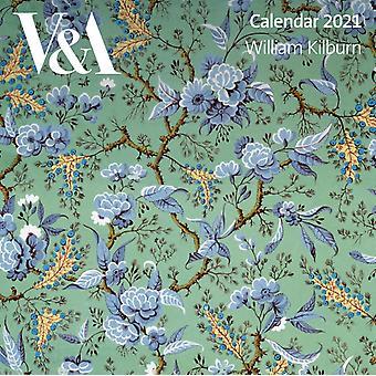 VampA William Kilburn Wall Calendar 2021 Art Calendar par Créé par Flame Tree Studio
