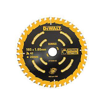 DEWALT Cordless Extreme Framing Circulair Zaagblad 165 x 20mm x 40T DEWDT10640QZ
