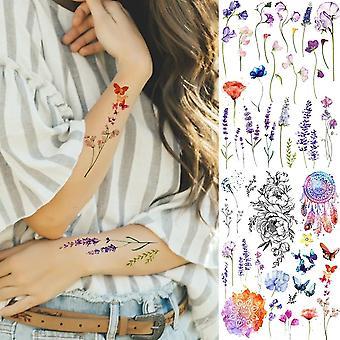 Falešné dočasné dívky kotník tetování - ženy sexy vlastní tetování samolepky