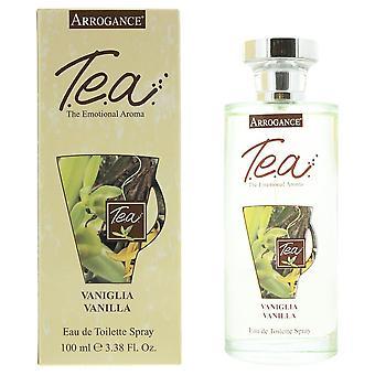 Arrogance Tea - Vanilla Eau de Toilette 100ml Spray