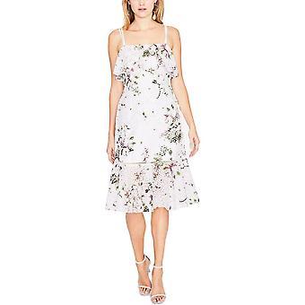 RACHEL Rachel Roy   Floral-Print Ruffle Dress