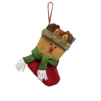 YANGFAN Christmas Decorations Candy Bag Socks