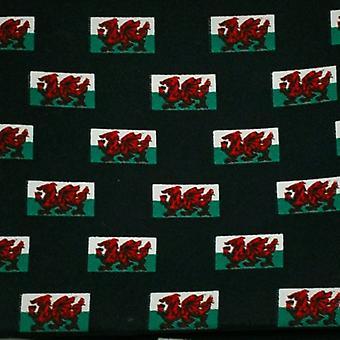 Ties Planet Wales Flag Újdonság Pocket Square zsebkendő