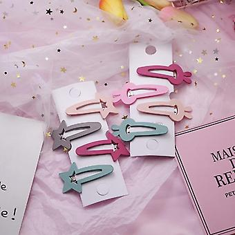 Lovely Star/rabbit/triangle Design Hairpins