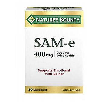 Nature's Bounty SAM-e Double Strength, 400 mg, 24 X 30 Tabs