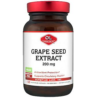 Olympian Labs Grape Seed Extract, 200 mg, 100 caps