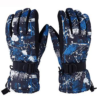 Winter Warm Skiing Motorcycle Outdoor Windproof Waterproof Riding Gloves