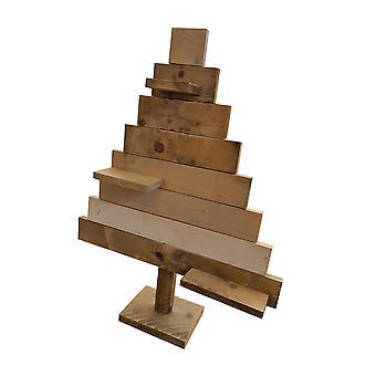Wood4you Weihnachtsbaum Gerüst Holz 110Hx70Dx20D