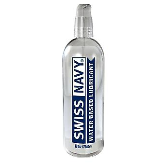 Swiss navy water based lubricant 472 ml / 16 fl oz