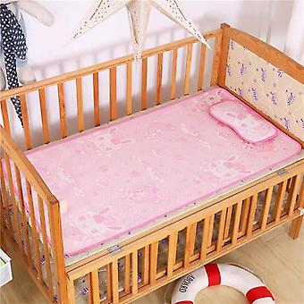 Summer Baby Changing Mattress, Baby Cooling Mat With Pillow