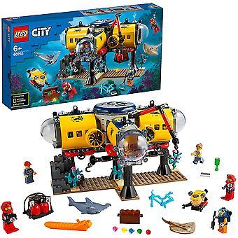 LEGO 60265 kaupunki merentutkimustukikohta