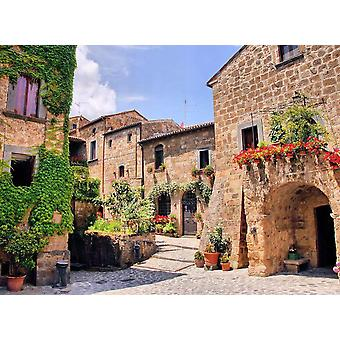 Wallpaper mural italiensk Old Village