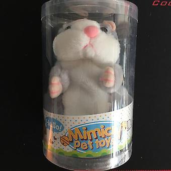 Hamster Speak Talk Sound Record, toistuva täytetty, muhkea eläinten syntymäpäivä,