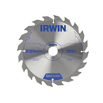 Irwin cirkelzaagblad 235 x 30 x 20T ATB IRW1897207