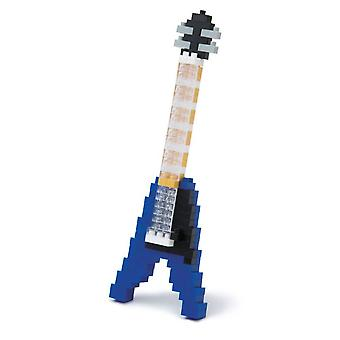 Nanoblock: Electric Guitar - Blue Gifts/Game