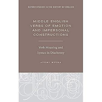 Keskien englannin verbit tunne ja persoonaton rakenteet: Verbien merkitys ja syntaksi Diachrony (Oxford Studies...