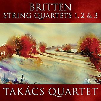 B. Britten - Benjamin Britten: String Quartets Nos. 1-3 [CD] USA import
