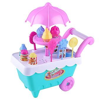 Children's Simulación Candy Ice Cream Cart