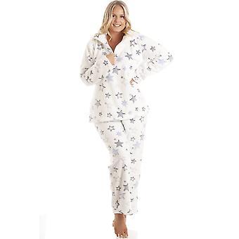 Camille Womens Star Burst Funnel Neck Pyjama