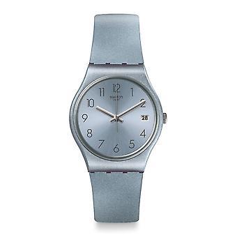 Relógio Swatch Gl401 Azulbaya azul do Silicone