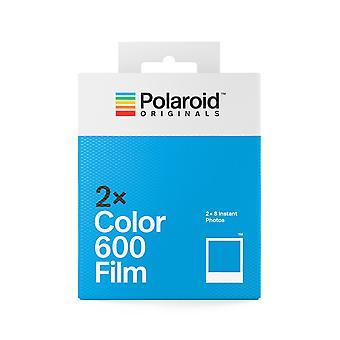 Polaroid-alkuperäiskappaleet - 4841 - värikalvo 600 kaksinkertaiselle pakkaukselle - valkoinen kehys