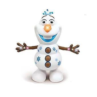 קפוא 2 רובוטים איש שלג אולף חשמלי- ריקוד ומהלכים