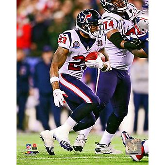 Arian Foster 2012 Action Photo Print