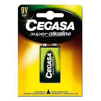 Alkaline Battery Cegasa 6LR61 9V