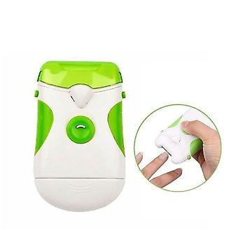 Portable Electric Nail Trimmer Nail Clipper With Led Light