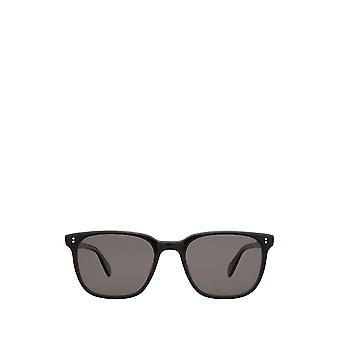 Garrett Leight EMPEROR SUN black laminate unisex sunglasses