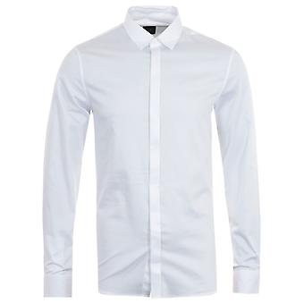 Armani Exchange Slim Fit Shirt - White