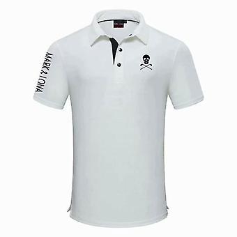 Uusi Lyhythihainen Urheilu Golf T-paita, Vaatteet