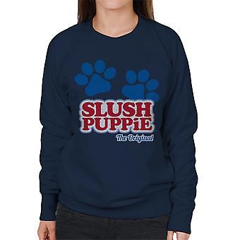 Slush Puppie Paws Logo The Original Women's Sweatshirt