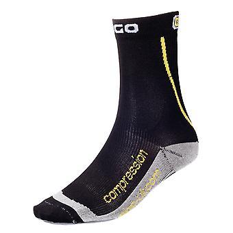 Eigo Cycling Short Compression Socks Black - S