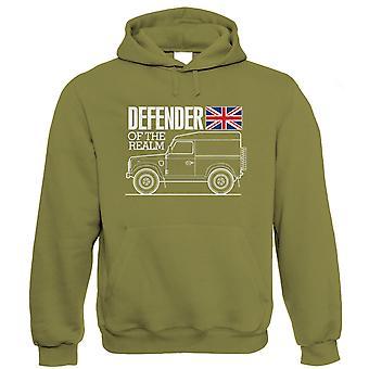 Försvarare av sfären, mens Off Road hoodie, gåva för honom pappa
