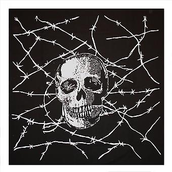 Skull & Barbed Wire Bandana