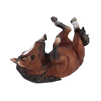 Brown Horse Single Wine Bottle Holder Kitchen Decor